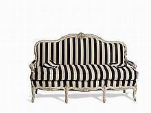 A Louis XV-Style Three Seater Sofa, France c 1900