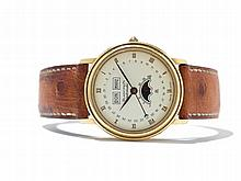 Blancpain Villeret Wristwatch, Switzerland, Around 1995