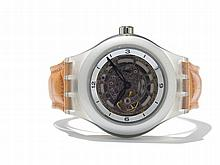 Swatch Diaphane One Carousel Tourbillon, Switzerland, C. 2000