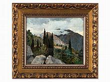 Nikolai Bogdanov-Belsky, Crimean Landscape, circa 1920