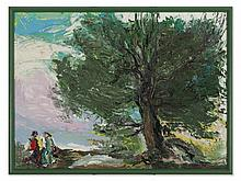 Anatolij Slepyschev, Oil Painting 'Rendezvous', 1987