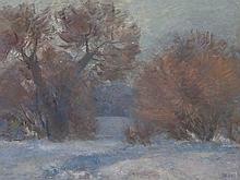 Tatyana A. Shevchenko (1911-1997), Winter Landscape, 1981