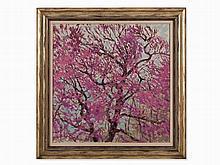 Alexander N. Samokhvalov (1894-1971), Flowering Tree, Oil, 1962