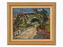 Joseph Levin (1894-1979), Landscape in Provence, c. 1915