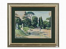 Zinaida Serebriakova (1884-1967), The Boboli Gardens, 1932