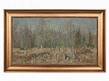 Konstantin Semenovic Vysotskij, Forest Glade, Russia, 1929