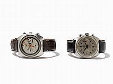Longines, Sorel, 2 Chronographs, Switzerland, 1960-1970