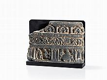 Schist Relief, Scenes from the Life of Buddha, 2nd/3rd C.