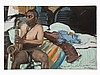 Larry Rivers (1923-2002), Umber Blues, Oil Painting, 1987, Larry Rivers, €8,000