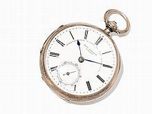 John Forrest Silver Pocket Watch, England, Around 1870