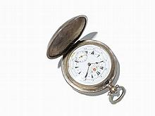 Louis Perret, 800 Silver, Ottoman Verge Pocket Watch, 1860s