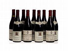 9 bottles 1996 & 1999 Chambolle-Musigny Premier Cru, Burgundy