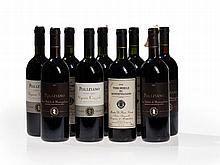 9 bottles of Vino Nobile di Montepulciano, 1990 vintage