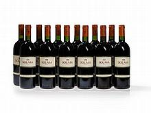 12 bottles Antinori Solaia, 1994, 1995 and 1997 vintages