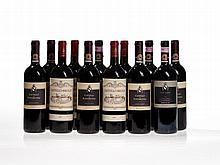 12 bottles Fonterutoli & Brolio, 1990-1999, Chianti Classico
