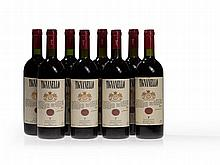 8 bottles Antinori Tignanello, 1994, 1996 and 1997 vintages