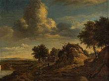 After Jan Wijnants (1632-1684), Path by the Dunes, 19th C.