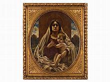 Karl Gampenrieder (1860-1930), Painting, Madonna, c. 1890