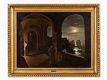 Franz Catel (1778-1856) Attrib., Nuns in the Cloister, c. 1824