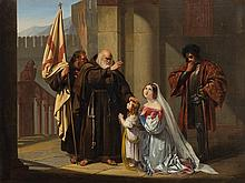 Blessing of the Young Crusader, Germany, Mid-19th Century