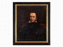 George Patten – Attrib., Portrait of Niccolò Paganini, 19th C.