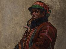 Painting, Portrait of a Young Man, Latin America, 19th C.