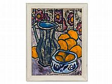 Painting, Still Life with Oranges and Pitcher, Germany, 1970