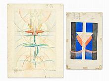 Hans Haffenrichter (1897-1981), 2 Compositions, 1911/1920s