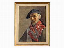 Jacques Martin-Ferrières (1893-1974), Men's Portrait, c. 1950