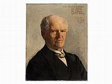 Ernest Wante, Portrait of Simone de Lepeleer, Painting, 1904