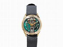 Bulova Accutron Spaceview Wristwatch, USA, c. 1967