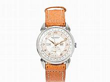 Movado Full Calendar Wristwatch, Switzerland, c. 1940