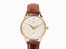 Zenith Gold Oversize Wristwatch, Switzerland, c. 1957