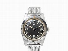 Wittnauer Diver's Wristwatch, Switzerland, c. 1960