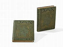PAN, 2 Volumes, Julius Meier-Graefe / Otto Bierbaum, 1896