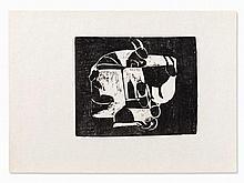 Ewald Mataré, Weide, Woodcut, 1928