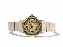 Cartier Santos Women's Watch, Switzerland, Around 1990