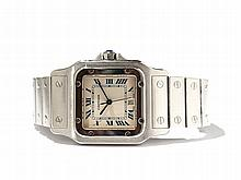Cartier Santos Wristwatch, Switzerland, Around 1990