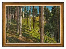 Adolf Helmberger (1885-1967), Plombergstein, Oil Painting, 1910