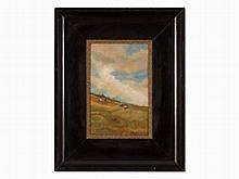 Emilie Mediz-Pelikan (1861-1908), Dune Landscape, Oil, c. 1890