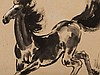Xu Beihong, Rare Ink Painting 'Galloping Horse', China, 1936, Xu Beihong, €24,000