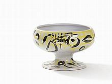 Stefan Szczesny, Bowl Vase with Polychrome Decor, 2000