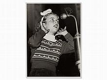 Shot of Cornelia Froboess, Gelatin Silver Print, early 1950s