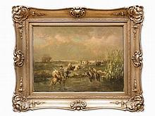 Christian Adolf Schreyer, Oriental Horsemen, Germany, c. 1880