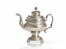 Tiffany & Co., Sterling Silver Tea Pot, New York, circa 1900