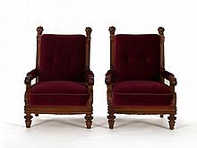 Pair of Armchairs from the Palast der Republik, circa 1860/70