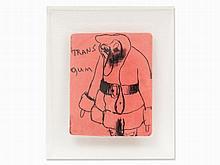 Paul McCarthy, Serigraph on Chewing Gum, Transgum, USA, 2000
