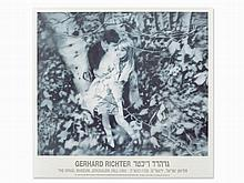 Gerhard Richter, Lovers in the Forest, Exhibition Poster, 1995