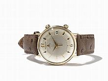 LeCoultre Memodate Wristwatch, Switzerland, Around 1960