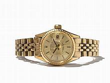 Rolex Datejust Women's Watch, Ref. 6517, Switzerland, C. 1975